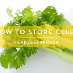 The Best Way to Store Celery