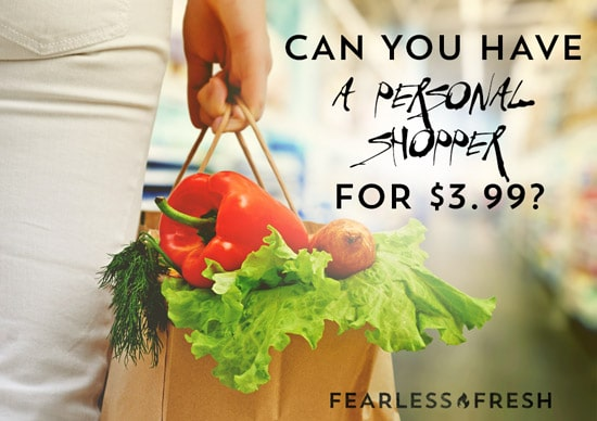 Can You Have A Personal Shopper for 3.99?