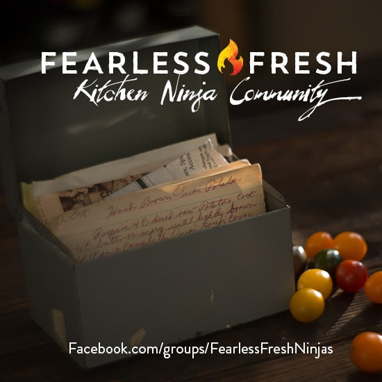 The Fearless Fresh Ninja Community: Your Key to Home Cooked Meals