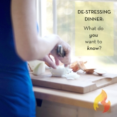 Let's Be Honest About Stress and Dinner Tonight